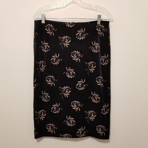 NWT LOFT Velvety Pencil Skirt